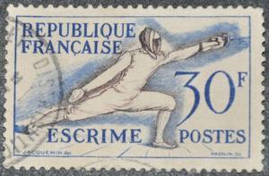 DYNAMITE Stamps: France Scott #702 – USED