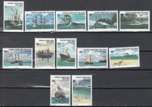 Cocos (Keeling) Islands, 20-31 (2), MNH, 1976, Ships