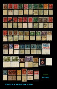 Canada CLEARANCE: and Newfoundland 49 total  ~ CLR90132