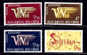 South Vietnam C1-4 MNH 1952-53 set    (ap2268)