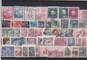 Czechoslovakia stamps Ref 13765
