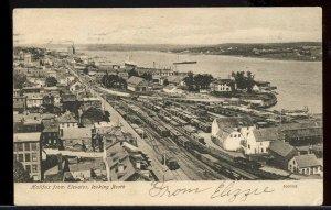Halifax from Elevator looking North  N.S. Nova Scotia post card Canada
