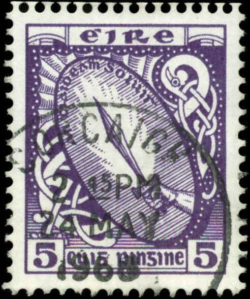 Ireland  Scott #226b Used  Type I