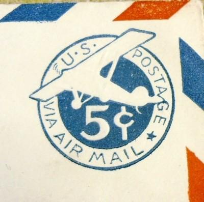 UC2, 5c U.S. Postage Envelopes