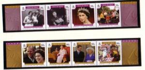 Isle of Man  Sc 1133-4 2006 QE II 80 years stamp set mint NH
