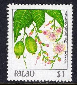 Palau 139 Flower MNH VF
