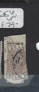 ST LUCIA  (PP2705B)  QV    12D/6D     SG  56   ONE COPY ONLY  VFU