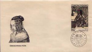Czechoslovakia, First Day Cover, Art