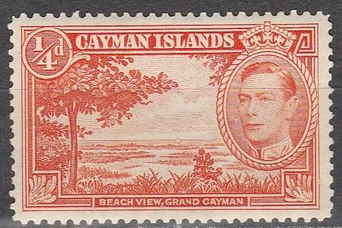 Cayman Is #100 F-VF Unused  (S6369)