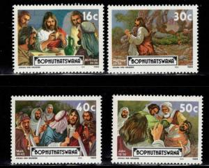 South Africa - Bophuthatswana Scott 220-223 MH* Easter  set 1989