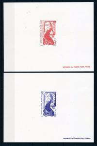 [49126] Saint Pierre & Miquelon 1986 Marine life Fish 2 MNH Deluxe sheets