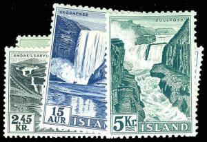 ICELAND-b-Post 1904 ISSUES (67 on) 289-96  Mint (ID # 78151)