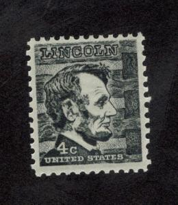 1282 Abraham Lincoln US Single Mint/nh FREE SHIPPING