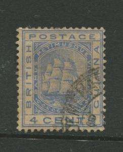 STAMP STATION PERTH British Guiana #109 - Seal of Colony Used Wmk 2 CV$6.50