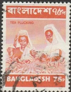 Bangladesh, #50 Used  From 1973