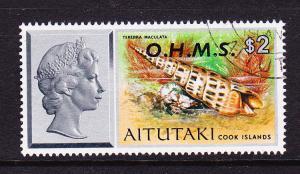 AITUTAKI  1978 $2  OHMS  FU  SG O14