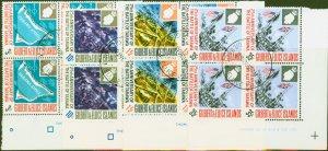 Gilbert & Ellice Is 1968 Battle of Tarawa set of 4 SG150-153 Superb Used Imprint