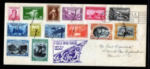 Philippines #383-396 FDC - Full Set Incredibly scarce and nice
