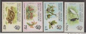 British Indian Ocean Territory Scott #39-42 Stamps - Mint NH Set