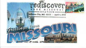 FPMG 3585 Greetings from America Rediscover Missouri