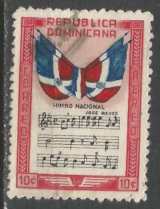 DOMINICAN REPUBLIC C57 VFU FLAG P292-4