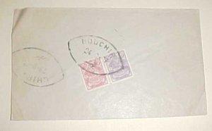 IRAN  BOUCHER SEPT 1907 B/S CHIRAK #351,354