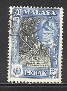 Malaya - Perak Sc # 134 used