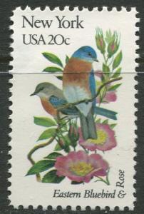 USA - Scott 1984 - State Birds & Flowers - 1982 - MNG - Single 20c Stamp