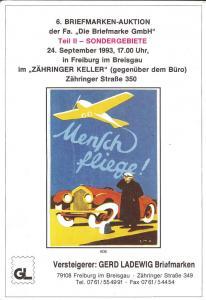 6. Briefmarken-Auktion der Fa.  Die Briefmarke GmbH, Te...