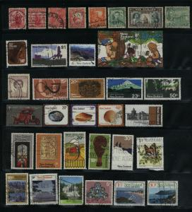 New Zealand  52 different used  PD