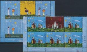 Montenegro stamp Childrens Drawing `A European delight` set 2008 MNH WS212018