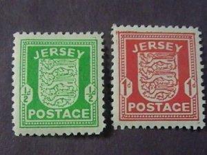 JERSEY # N1 & N2--MINT/HINGED---COMPLETE SET------1941-42