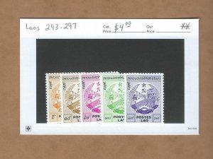 Laos  293-297  MNH