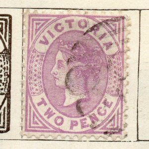 Victoria 1873-83 Early Issue Fine Used 2d. NW-11568