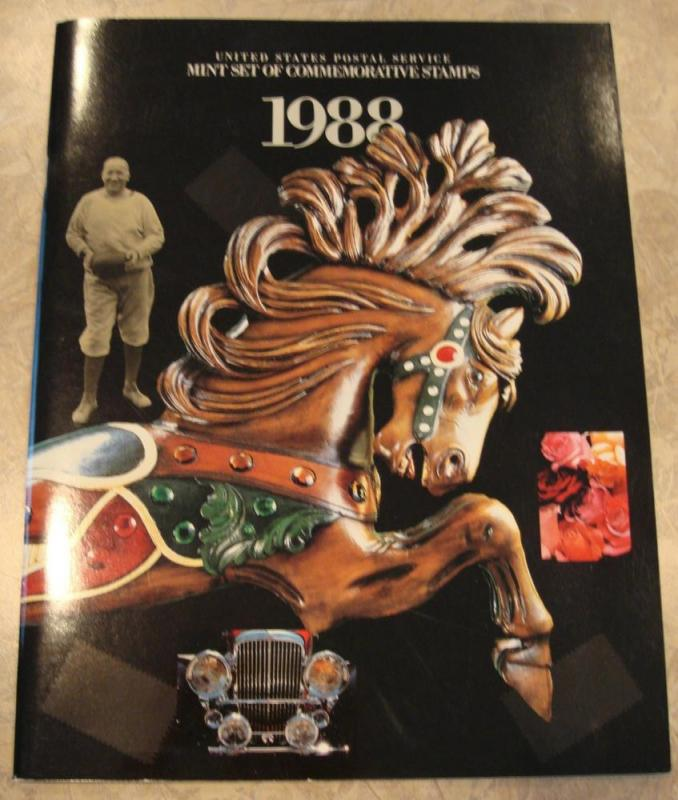 1988 USPS Commemorative Stamp Album WITHOUT Stamps