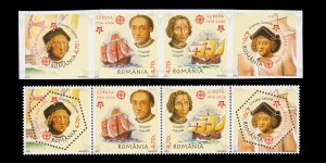 ROMANIA. 50th ANNIVERSARY EUROPA FIRST STAMPS. SCOTT # 4750. UNUSED