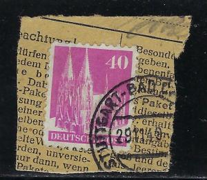 Germany AM Post Scott # 651, used, opp