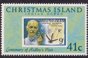 Christmas Island #275 Mint