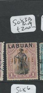 LABUAN (P2101B) 1C  MAN  SG 83B   MOG