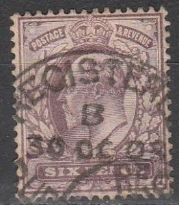 Great Britain #135   F-VF Used  CV $22.50  (S2726)