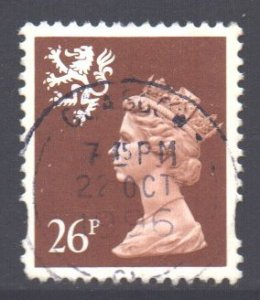 GB Regional Scotland SG S85, 1993 Machin 26p used