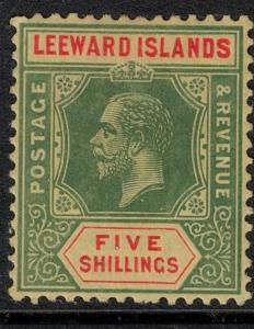 Leeward Islands 1914 SC 7 Mint Stamp SCV $65.00