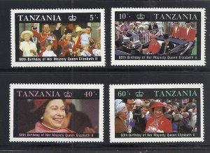 Tanzania #333-6 comp mnh cv $2.00