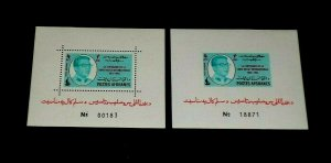 AFGHANISTAN #662m, 1963, INTL. RED CROSS, PERF. & IMPERF. SHEETS, MNH, NICE LQQK