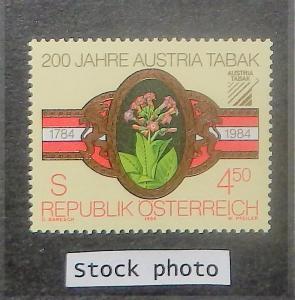Austria 1269. 1984 Tobacco Monopoly, NH