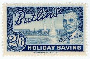 (I.B) Cinderella Collection : Butlins Holiday Saving 2/6d