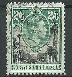 Northern Rhodesia  SG 41  Used