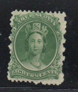 Nova Scotia Sc 11 1860 8 1/2c Victoria stamp mint