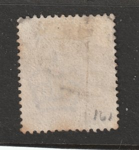 Great Britain a used QV 3d purple from 1883