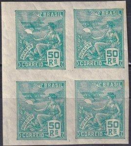 Brazil #330  MNH Imperf Block Of 4   V $80.00  (Z7191)